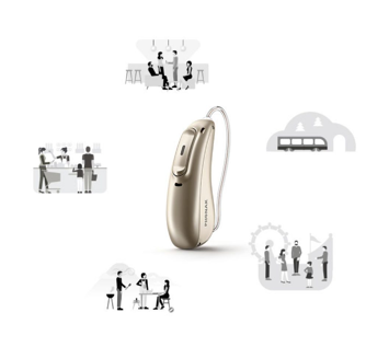 The world's first Healthable™ hearing aid